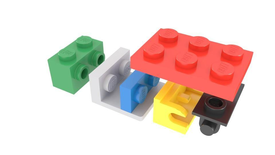Lego Build Technique