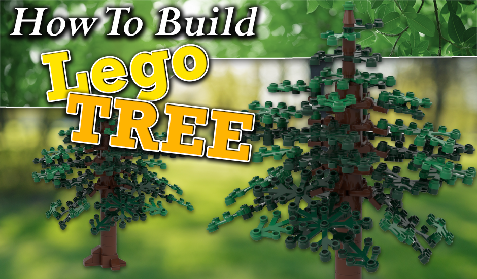 How to build Lego tree
