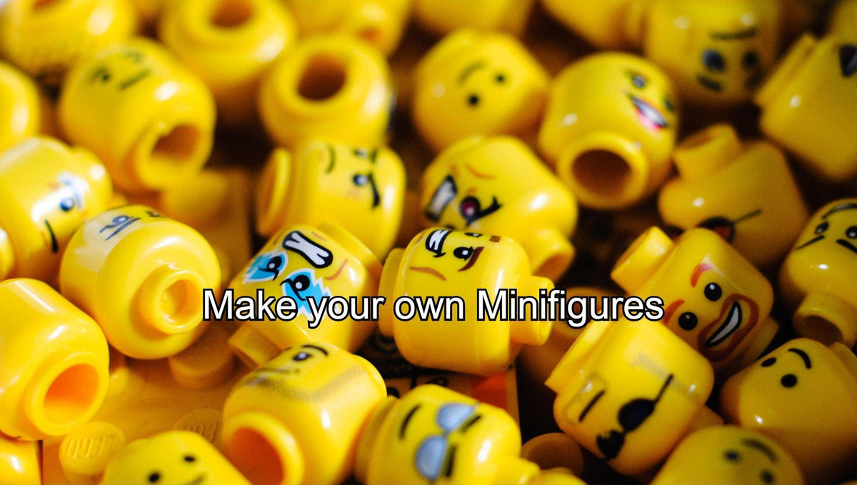 Make your own Minifigures  - Wait Whattt?