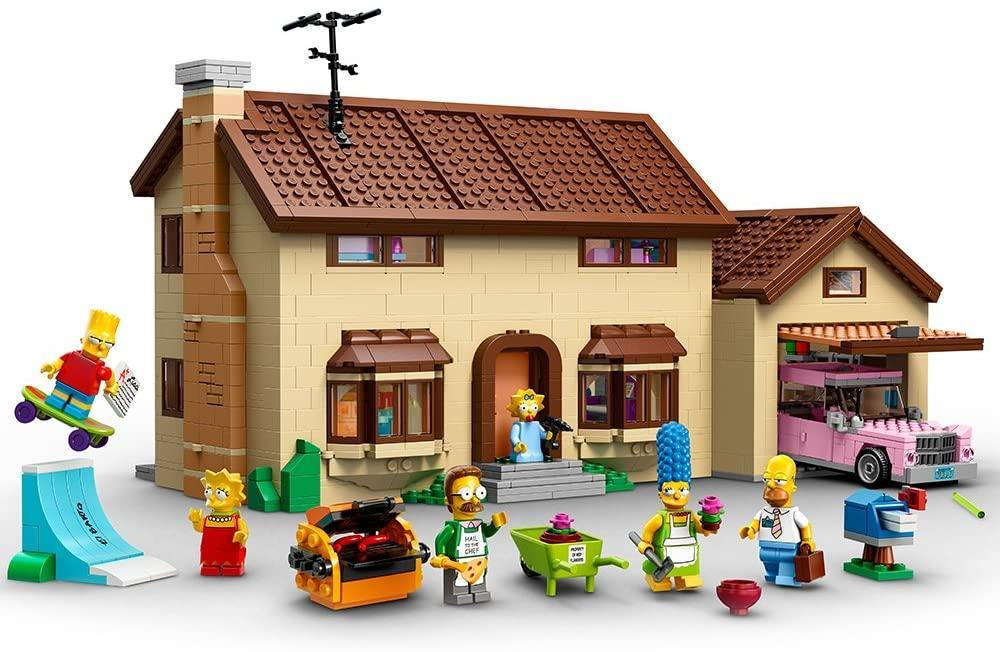 23 Lego The Simpsons Family Ideas