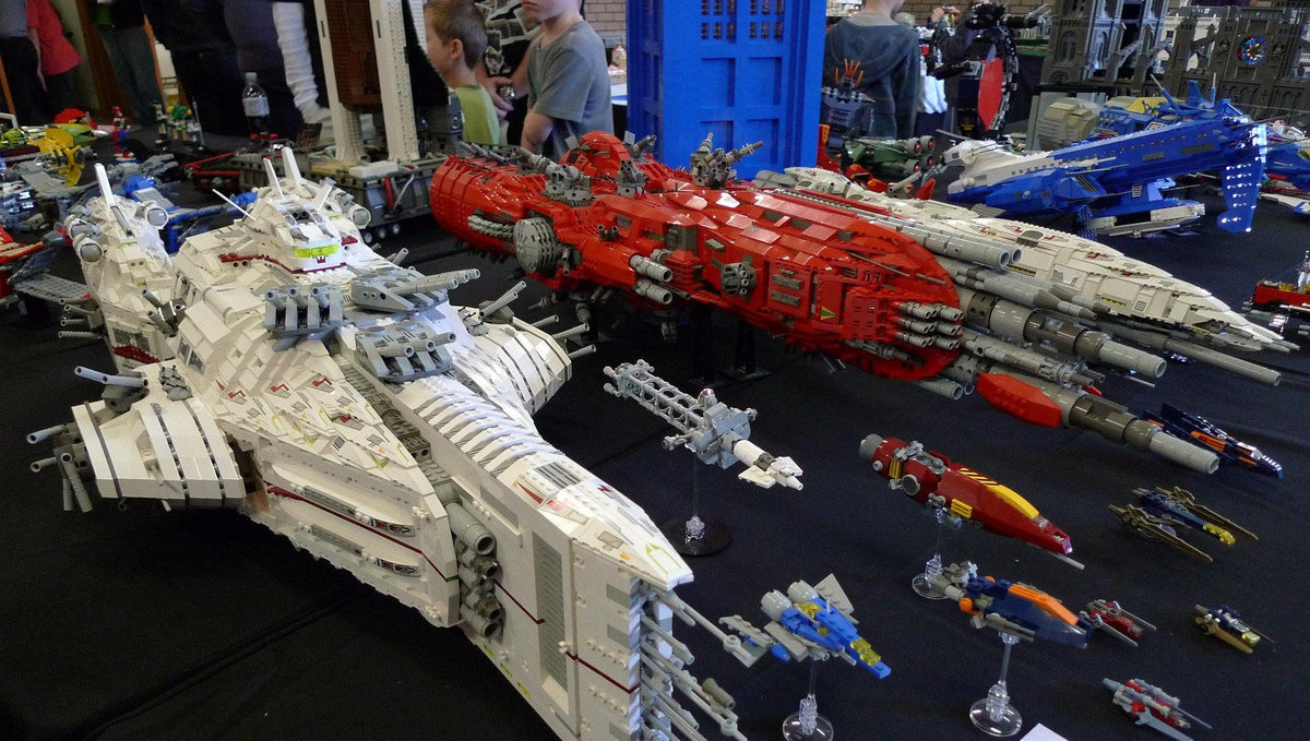Awesome Lego Spacecraft Models!