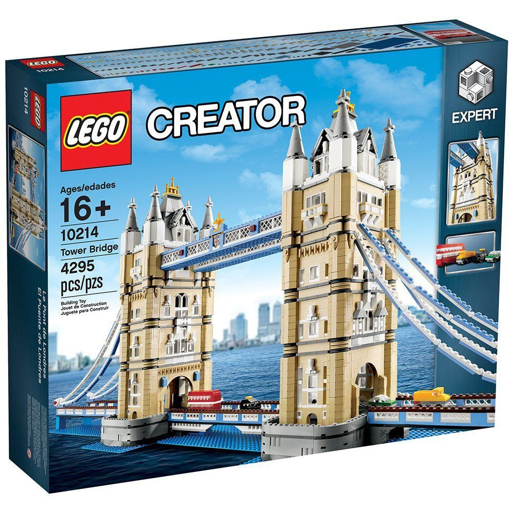 Lego alternative build Set 10214 Tower Bridge ‏