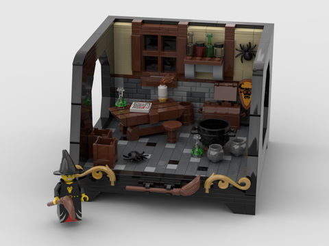 Witch Room Design with a special stand