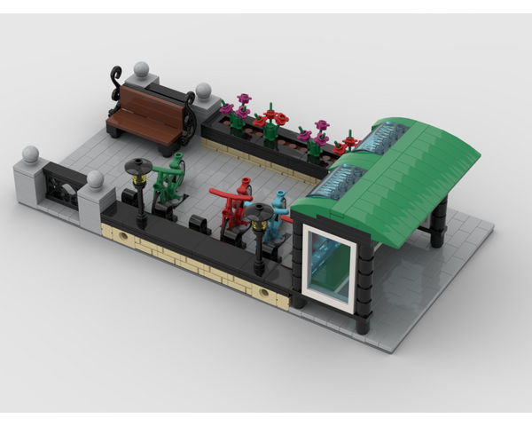 MOC - Modular Bus Stop - How to build it