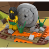 MOC - The invention of the wheel - Caveman - How to build it