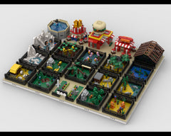 MOC - Modular ZOO | Build from 20 MOCs