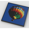 MOC - Hot Air Balloon Photo Art - How to build it