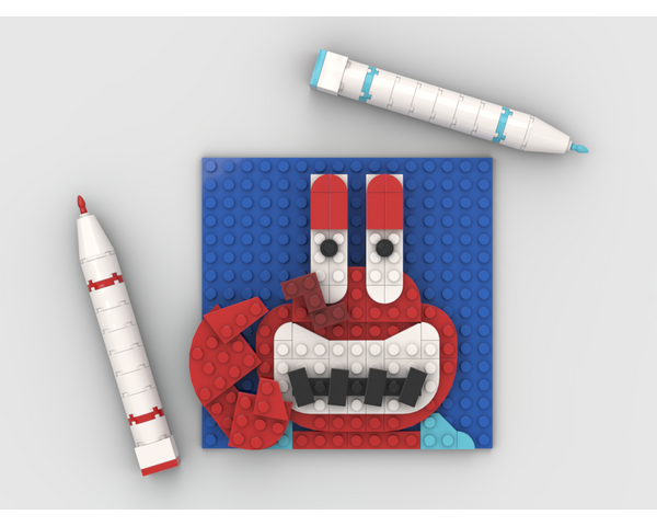 MOC - Mr. Krabs Draw - How to build it