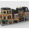 MOC - Modular Street Build from 4 MOCs - How to build it