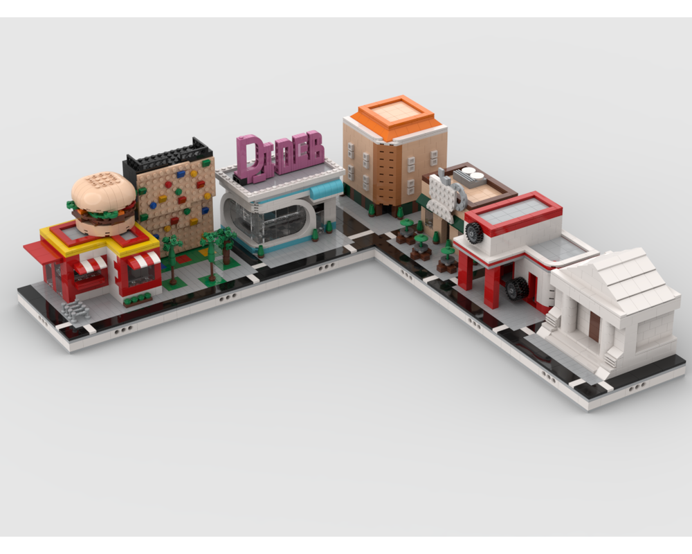 MOC - Modular City Extension 1.1 | build from 7 MOCs