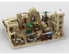MOC - Desert Village | build from 12 different mocs