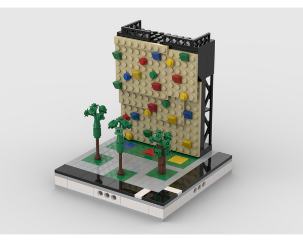 MOC - Climbing Wall - How to build it