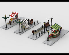 MOC - Modular Corner Pack #2 - Turn every modular model into a corner