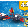 MOC - 31088 Sea Creatures Alternative Build - How to build it