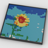 MOC - Sunflower Photo Art - How to build it