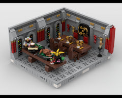 MOC - Big Royal dining room