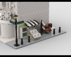 MOC - Modular Corner Newsstand | Turn every modular model into a corner