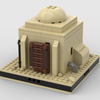 MOC - Desert House #1 for a Modular Desert space village - How to build it