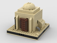 MOC - Desert House #1 for a Modular Desert space village