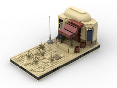 MOC - Desert House #2 for a Modular Desert space village