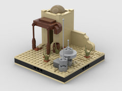 MOC - Desert House #3 for a Modular Desert space village