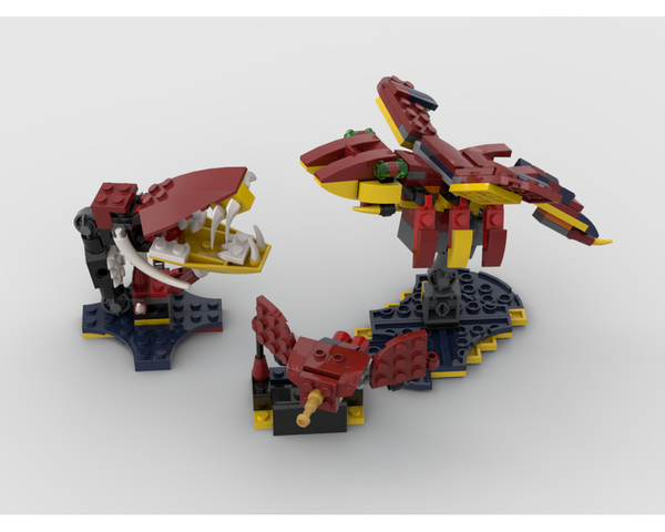 MOC - 31102 Carnivorous plant and insects Alternative Build - How to build it