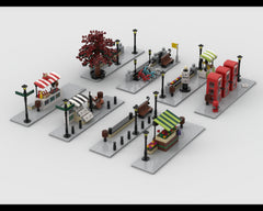 MOC - Modular Corner Pack #1+#2 - Turn every modular model into a corner