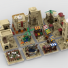 MOC - Desert Village | build from 12 different mocs - How to build it