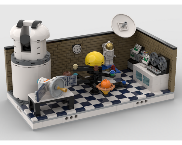 MOC - Space Lab - How to build it