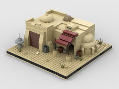 MOC - Desert Pub #4 for a Modular Desert space village