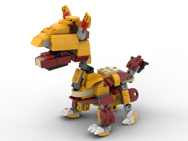 MOC - 31112 Giraffe Alternative Build - How to build it