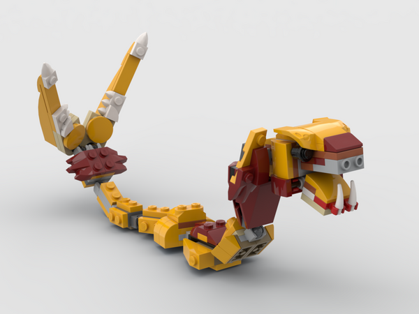 MOC - 31112 Snake Alternative Build - How to build it