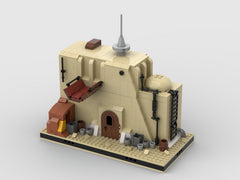MOC - Desert Junk Store #5 for a Modular Desert space village