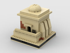 MOC - Desert House #6 for a Modular Desert space village