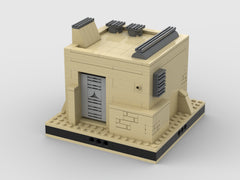 MOC - Desert House #7 for a Modular Desert space village