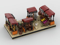 MOC - Desert Market #9 for a Modular Desert space village