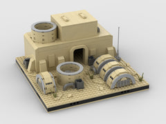 MOC - Desert Power Plant #11 for a Modular Desert space village