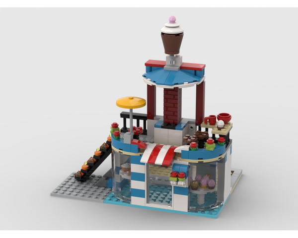 MOC - 31077 Bakery Alternative Build - How to build it