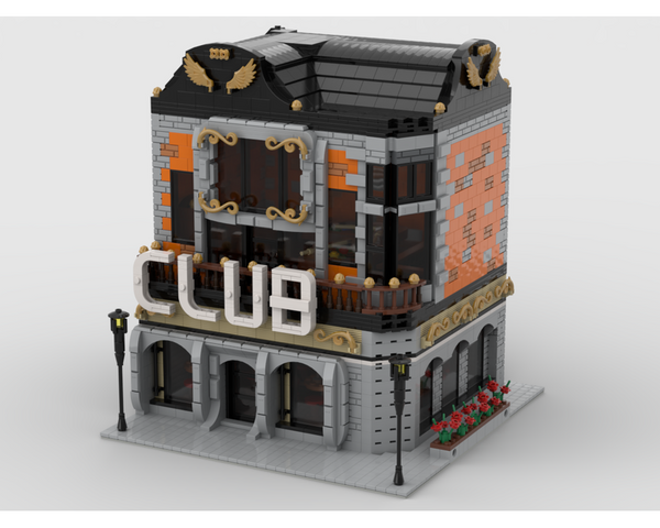 MOC - Modular CLUB Building