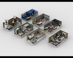 MOC - Lab Set Pack | build from 7 mocs