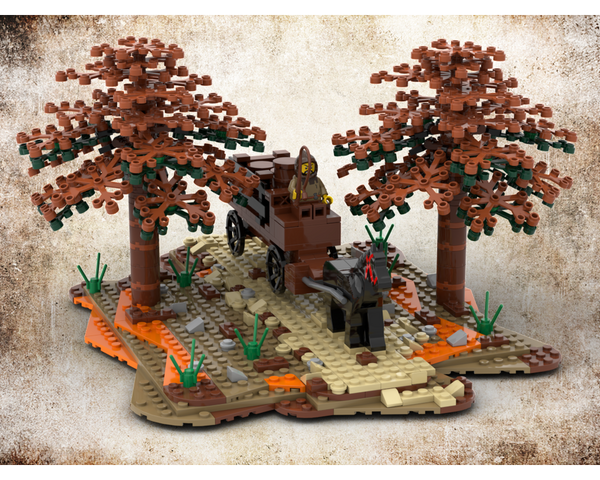 MOC - Medieval Carriage - How to build it