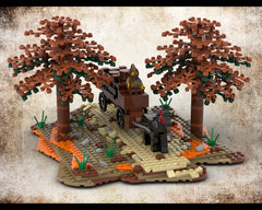 MOC - Medieval Carriage