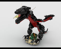 MOC - Black Dragon