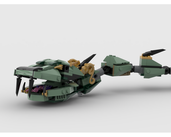 MOC - 70612 Snake Alternative Build - How to build it