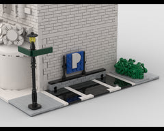 MOC - Modular Corner Parking | Turn every modular model into a corner