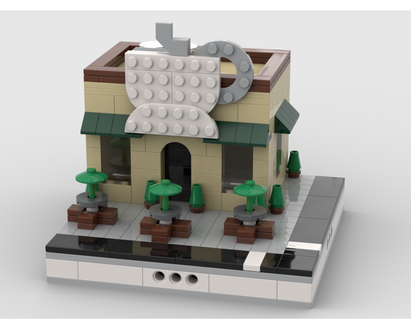 MOC - Coffee Shop - How to build it