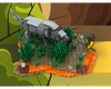 MOC - Wolf Against a Man - Caveman