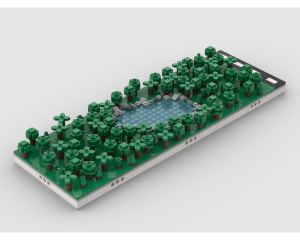 MOC - Urban Park | for modular city - How to build it