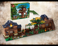 MOC - 21318 Medieval Street Alternative Build