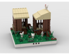MOC - Chicken coop for a Modular Village
